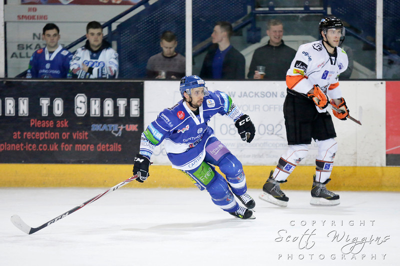 Coventry Blaze v Sheffield Steelers<br /> Play Off Quarter Final - First Leg