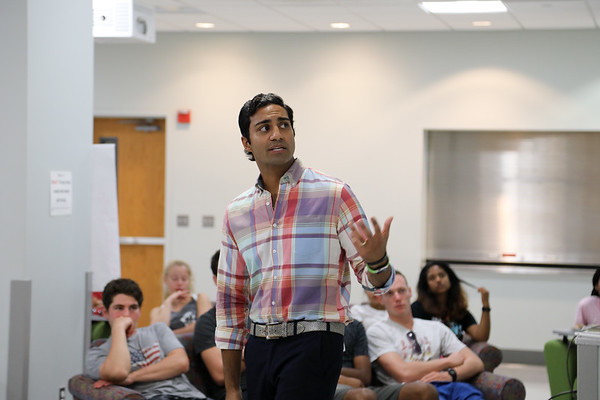 Fall 2017 Welcome Guest Speaker: Cherian Thomas, Spotluck