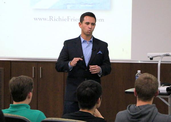 Ritchie Frieman, EIP Speaker