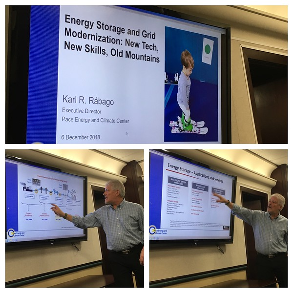 Guest Speaker Karl Rábago, Pace Energy and Climate Center