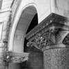 Detail at Old Main, Eastern Illinois University at Charleston, IL