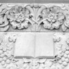 Architectural detail at Booth Library, Eastern Illinois University at Charleston, IL