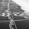 Track in stadium at O'Brien Field, Eastern Illinois University at Charleston, IL