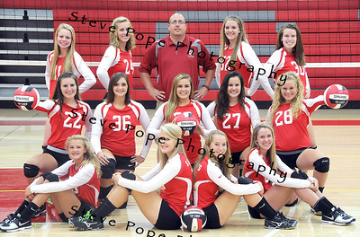 2014 St. Ansgar Volleyball