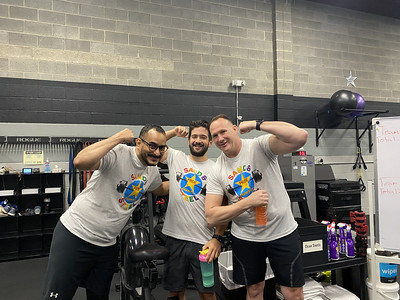 Team DBR Flexing
