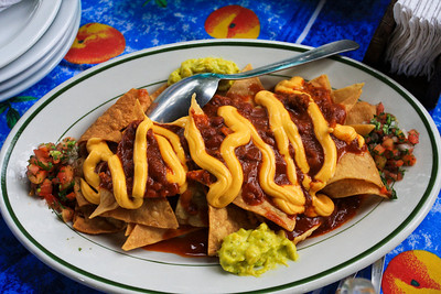 Nachos at Cafe at the Vulcan