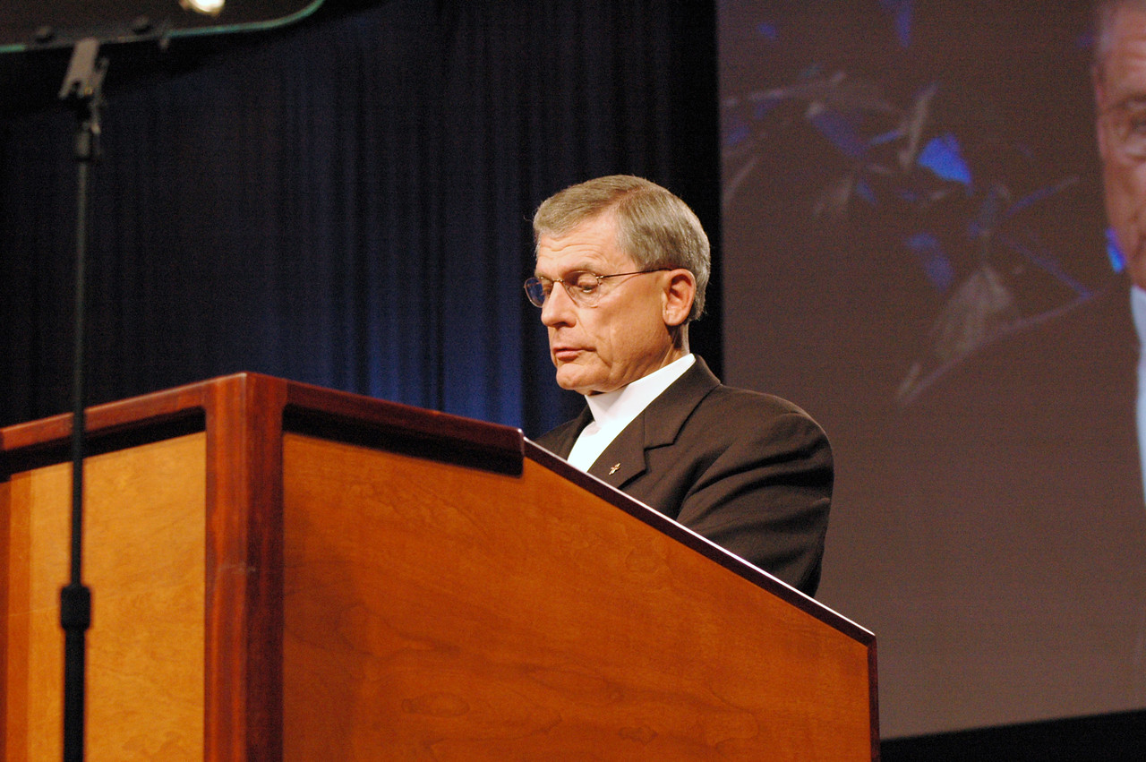 Pr. Gerald Kieshnick; President; The Lutheran Church – Missouri Synod (LC – MS); The ELCA and the LC – MS are partners in many ministries; including Lutheran Immigration and Refugee Service (LIRS); Lutheran World Relief (LWR); Lutheran Services in America (LSA); Lutheran Disaster Response (LDR); military chaplaincies; and some schools.; President Kieshnick brought greetings from The Lutheran Church – Missouri Synod to the Assembly.