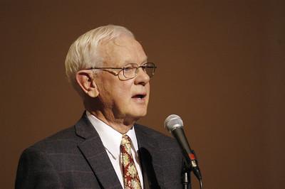 Pr. Herbert Chilstrom during Plenary Session Nine