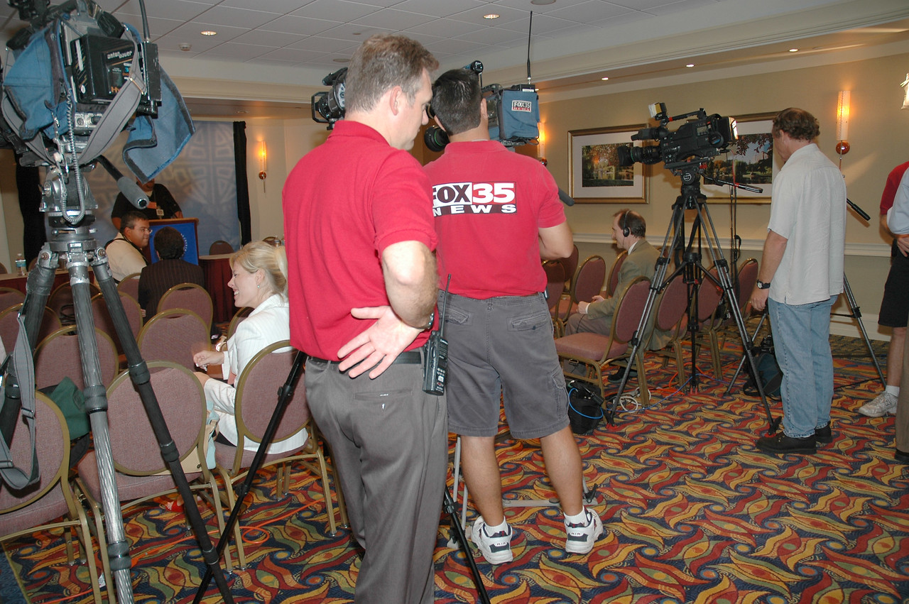 News Conference, August 8, 1:30 p.m. - Tim Frakes, Mosaic Television, ELCA, and Fox News