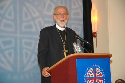 Presiding Bishop Mark Hanson, Press Conference - Aug 8