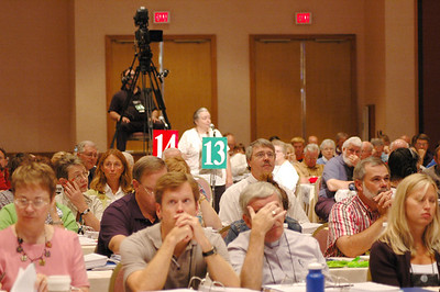 During Plenary Session Twelve, Aug. 14, Voting Members finished their work on memorials and resolutions.