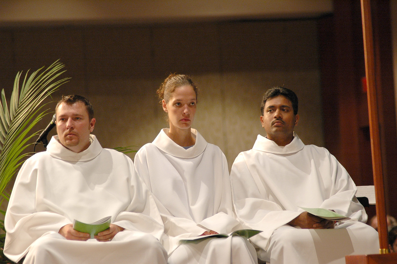 Young Adult Convocation participants were Sunday's acolytes