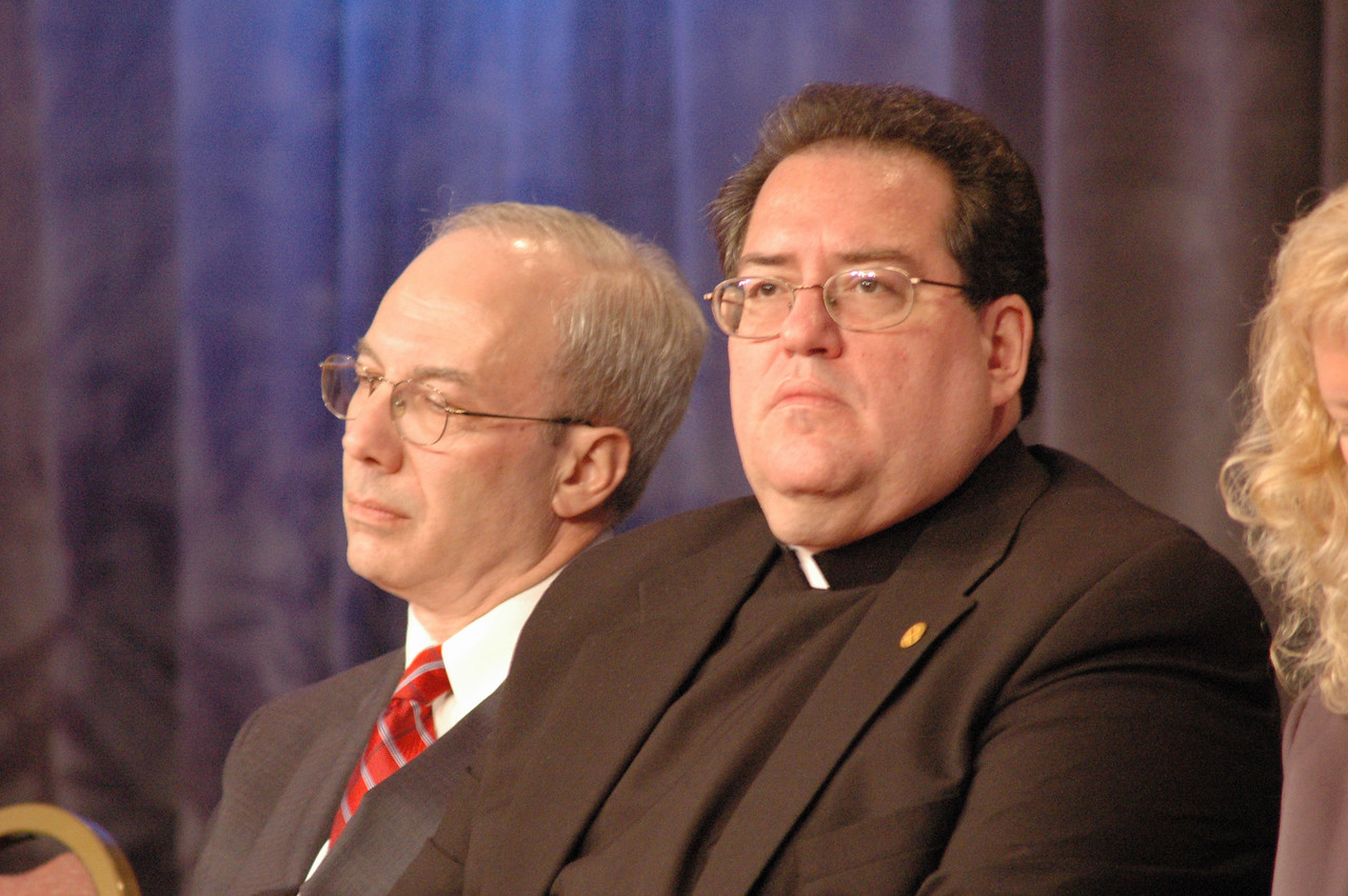 Rabbi Eric H. Yoffie, President of the Union for Reform Judaism and Randall Lee, The Rev. Randall R. Lee, Director, Department for Ecumenical Affairs