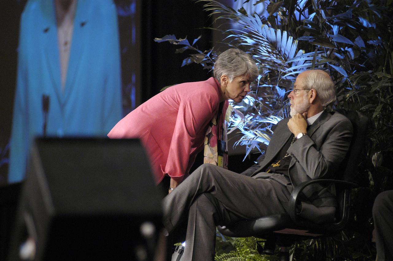 Myrna Sheie and Mark Hanson