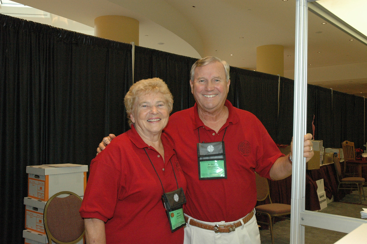 Volunteers from the Florida-Bahamas Synod - Pr. Don and Mary Johnson