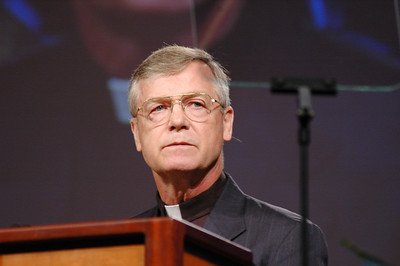 Pr. Robert Edgar, General Secretary, National Council of the Churches of Christ greets the Assembly.