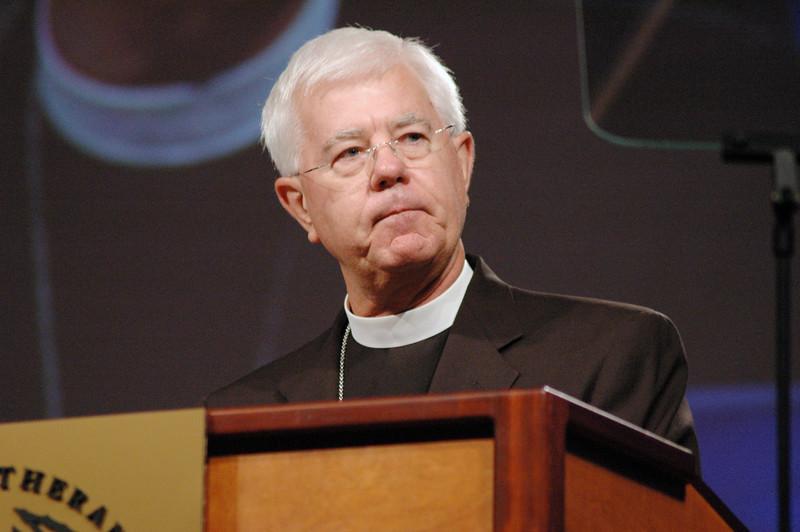 The Rev. Allan Bjornberg, Lutheran-Methodist Dialogue
