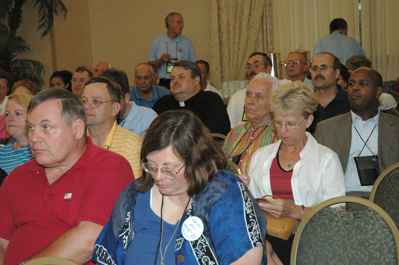 Solid Rock Lutherans met Thursday night to prepare for Friday's debate.