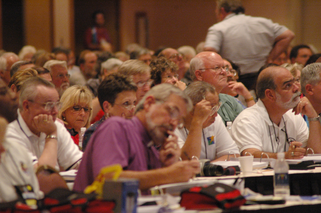 Plenary Session Five, Wednesday, Aug. 10.