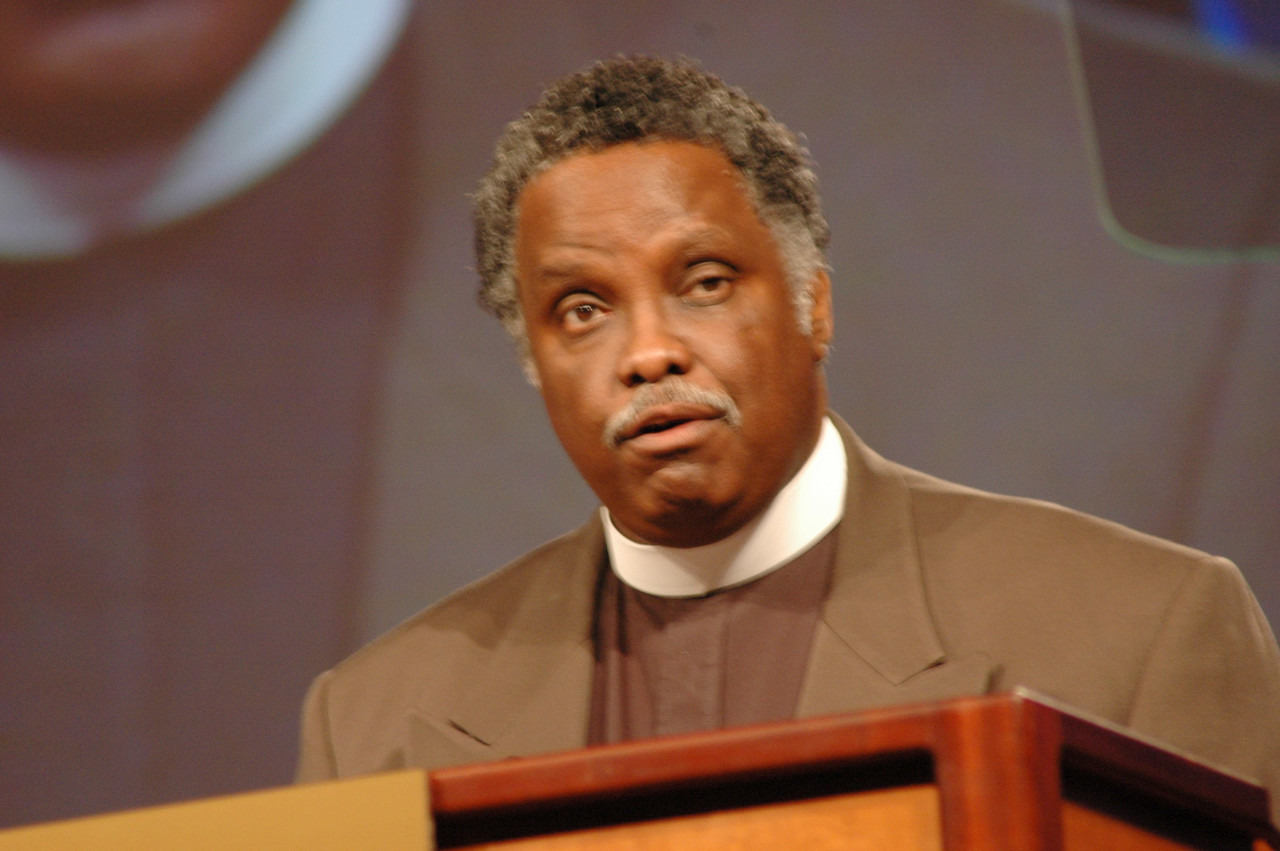 The Rev. Julius Carroll, Director for African American Ministries with the Commission for Multicultural Ministries