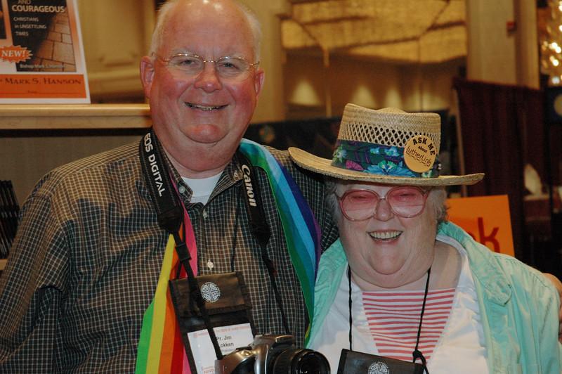 Lutherlink Participants James Lokken and Miriam Woolbert