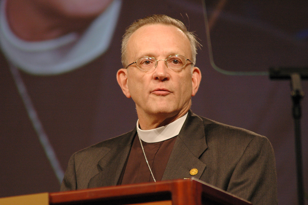 Pr. Kenneth Ruppar, chair of the ELCA Church Council's Legal and Constitutional Committee