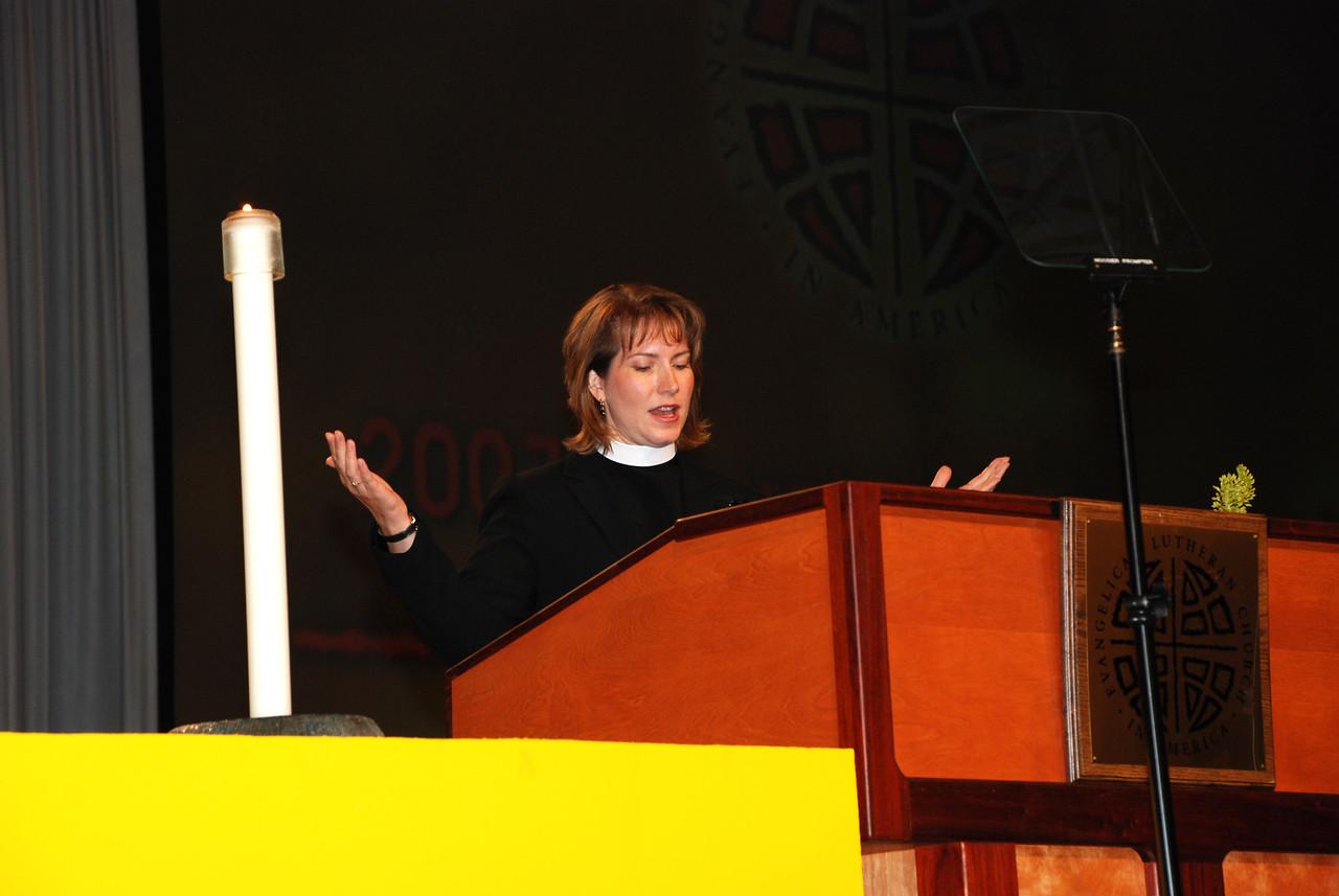 Closing Prayer:- The Rev. Jennifer Thomas, ELCA Church Councilmember, Milwaukee, Wis.