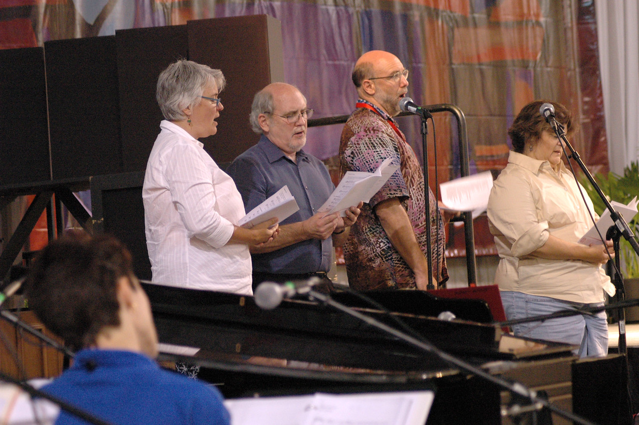 Mary Preus, Marty Haugen, Tom Witt and Donna Peña join the team of talented musicians.