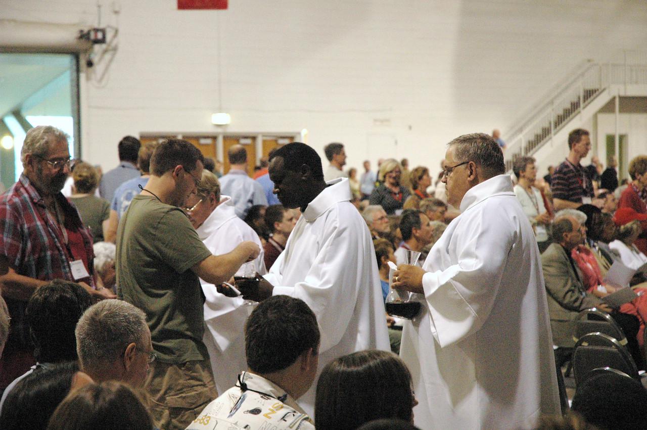 Communion assistants