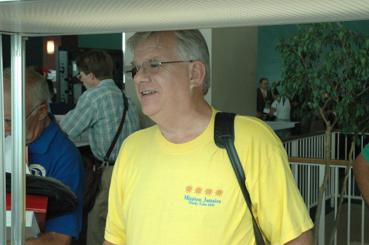 Mr. Timothy Voights at registration.