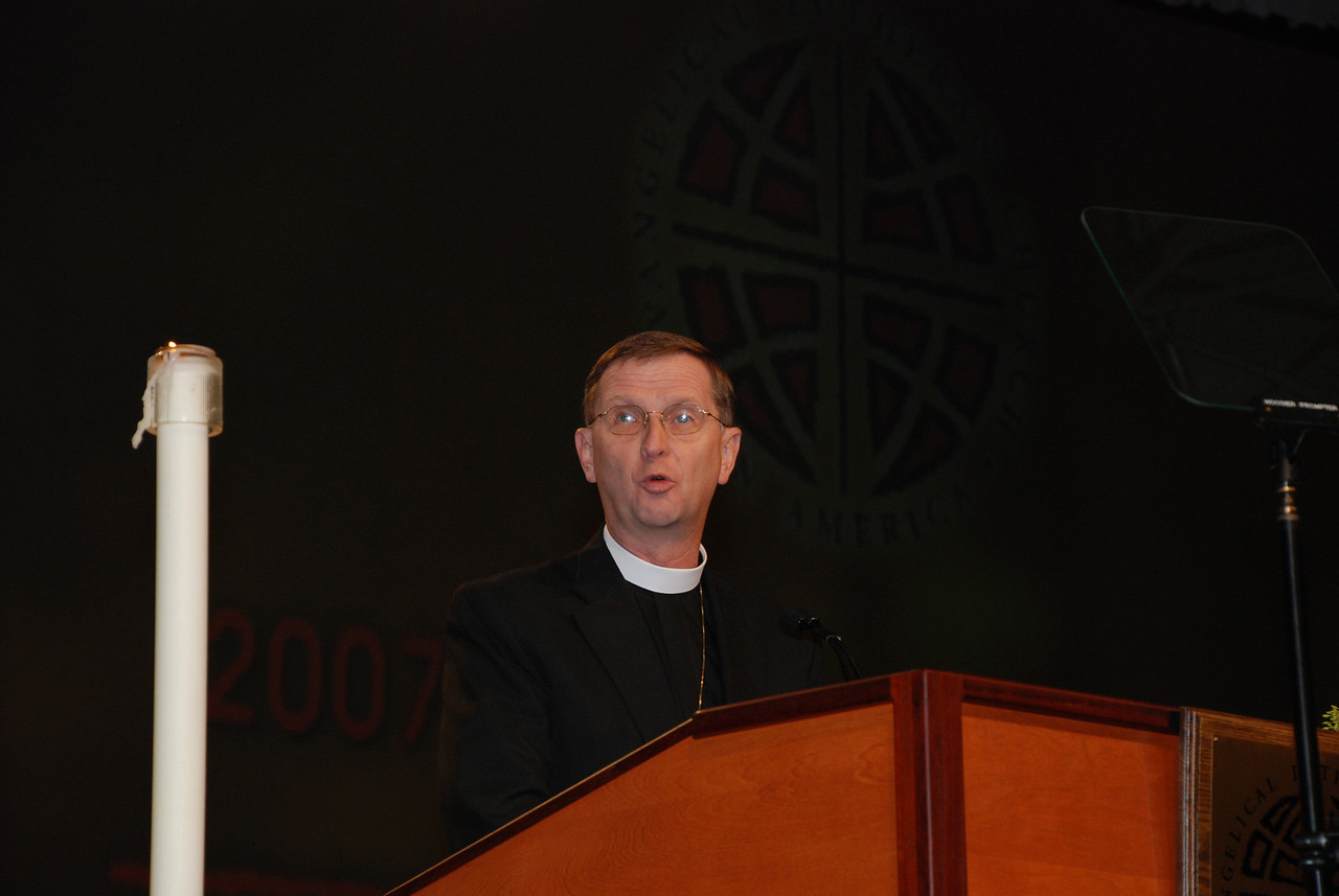 The Rev. Gregory Pile, Allegheny Synod, on behalf of Jill Schumann, president of Lutheran Services in America