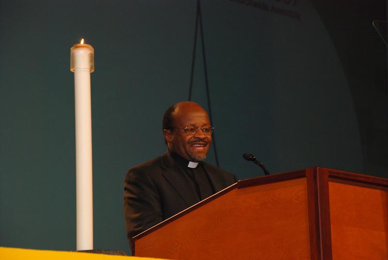 Dr. Ishmael Noko, general secretary, Lutheran World Federation
