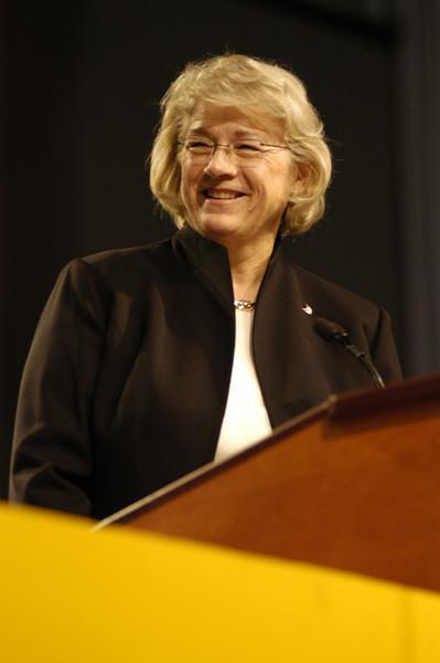 Dr. Janet Philipp, president of Dana College.