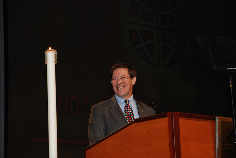 Ralston H. Deffenbaugh Jr., LIRS president presented Immigration issue to Plenary 6 voting members.
