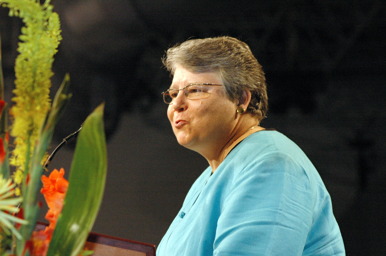 Greetings from the Rev. Deborah DeWinter, program executive for U.S. for the World Council of Churches.