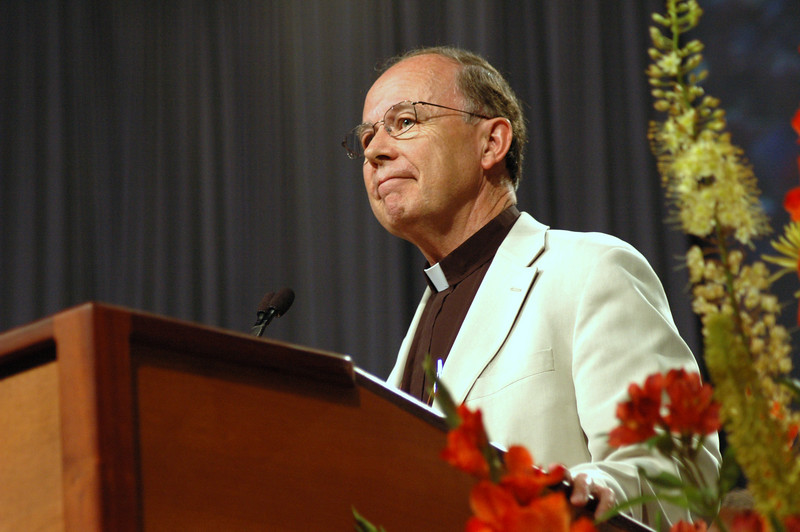 The Rev. Richard Magnus on the announcement of his retirement.