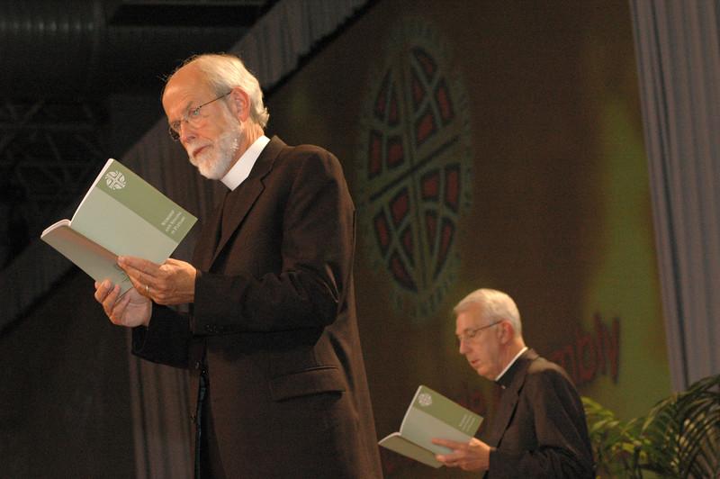 Presiding Bishop Mark S. Hanson and Secretary Lowell Almen