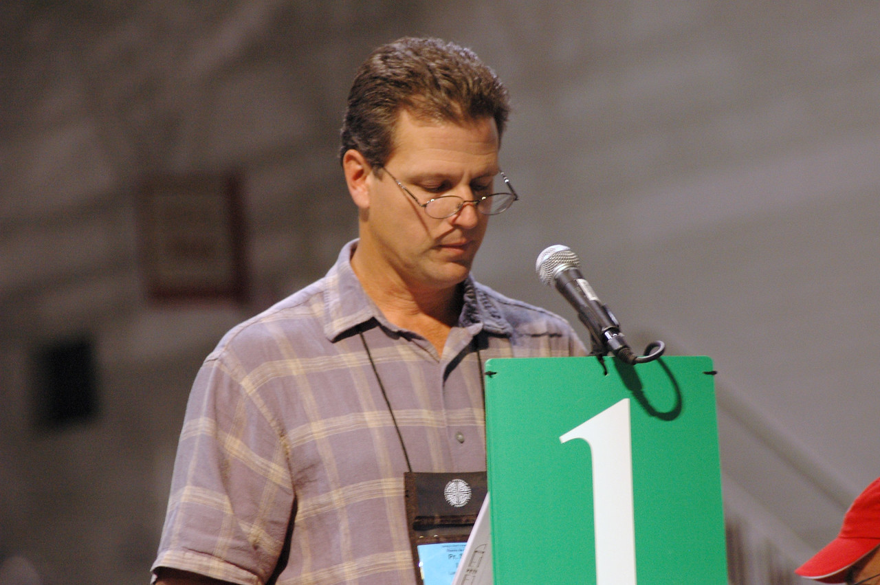 Reflections on -Dwelling in the Word: The Rev. Steve Loy, ELCA Church Council, Las Cruces, N. Mex.