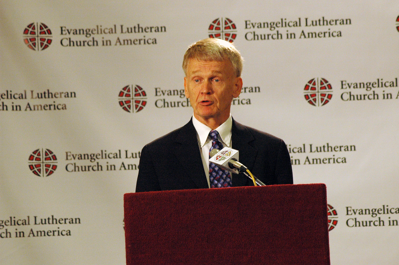 The Rev. Stanley Olson, ELCA Vocation and Education