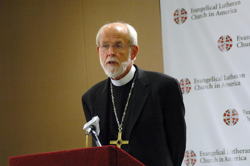 Presiding Bishop Mark Hanson