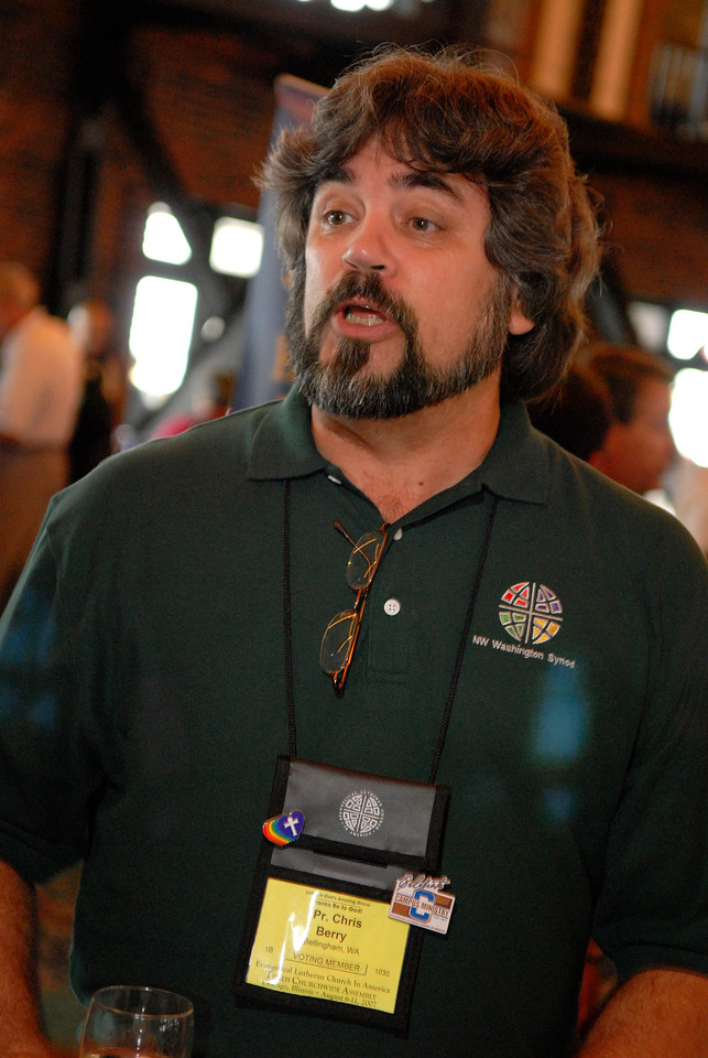 Campus Pastor Chris Berry of Western Washington University enjoys the 100th Anniversary of Campus Ministry celebration.