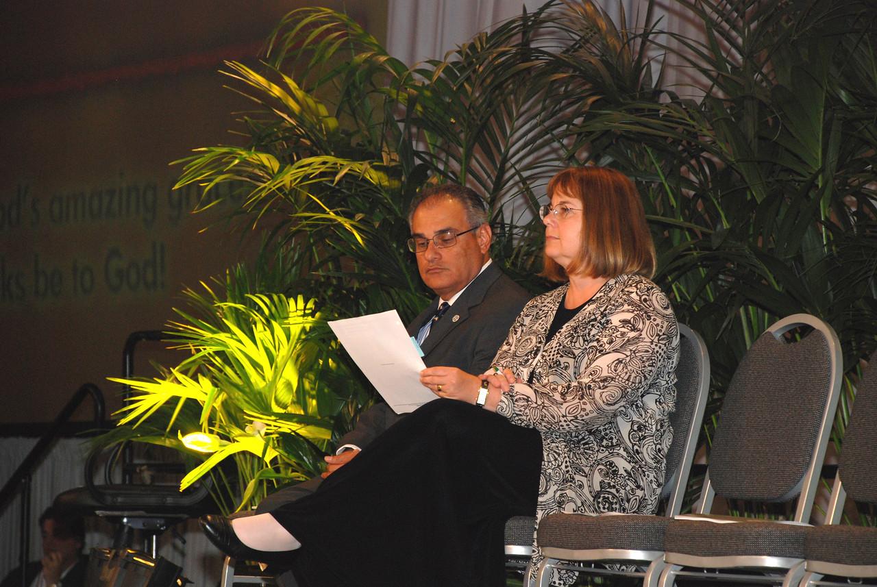 - Consideration of HIV/AIDS resolution: The Rev. Rebecca Larson, executive director, ELCA Church in SocietyThe Rev. Rafael Malpica-Padilla, executive director, ELCA Global Mission