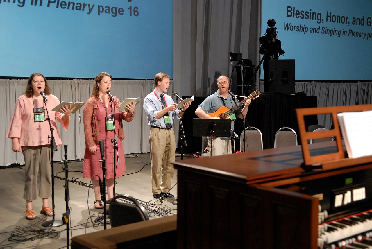 Hymn leaders
