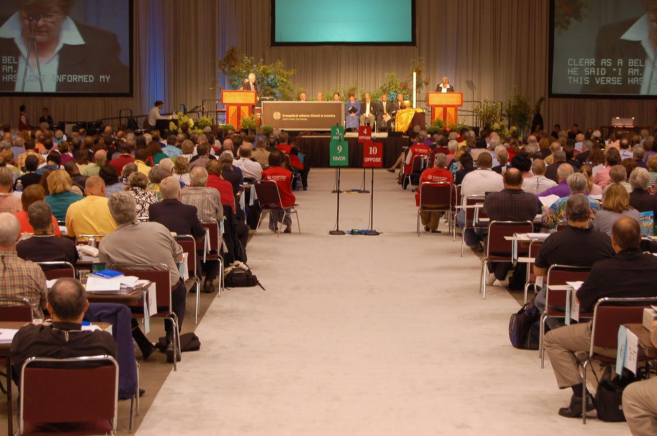 Plenary session nine.