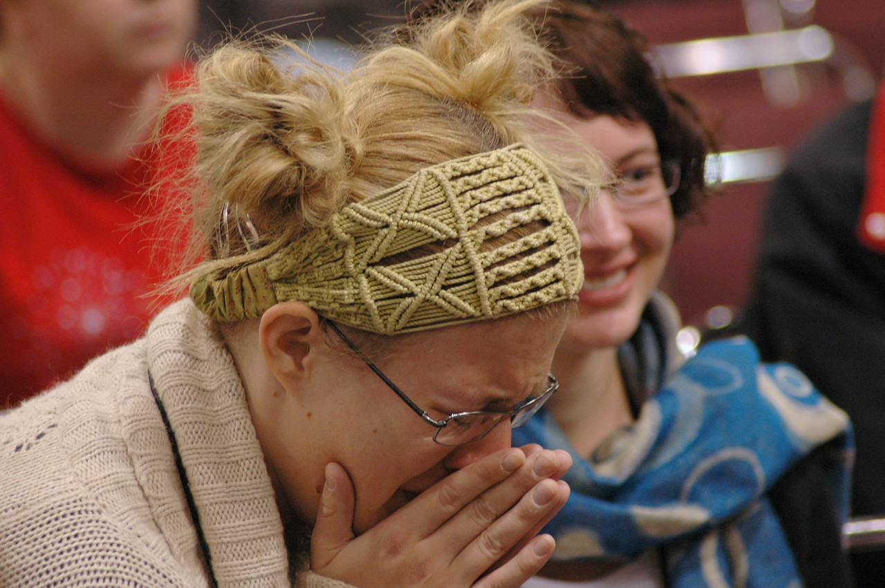 Emotions run high during plenary session eight.