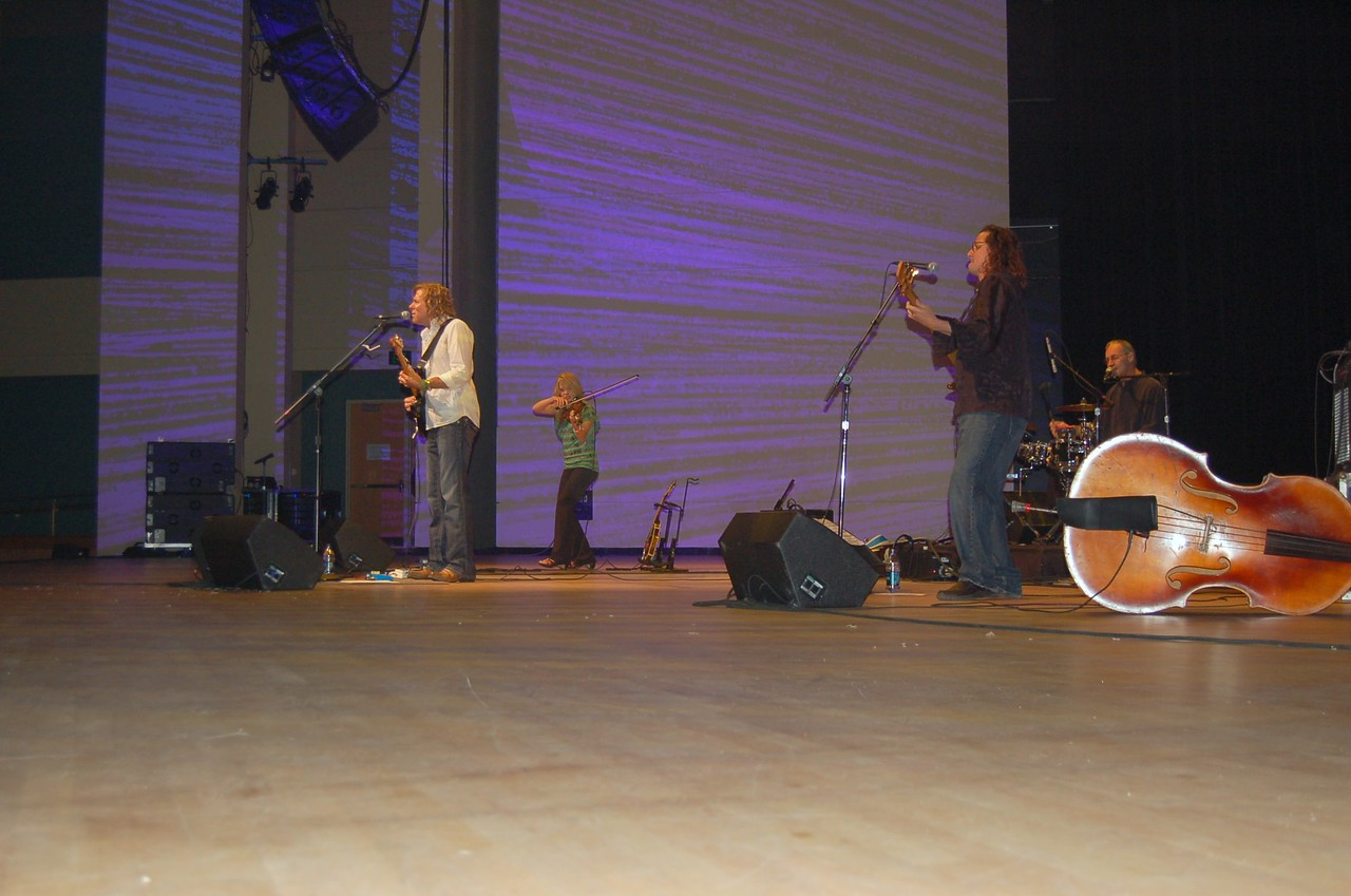 Peter Mayer performs at a benefit concert for the HIV and AIDS Strategy and the Lutheran Malaria Initiative.
