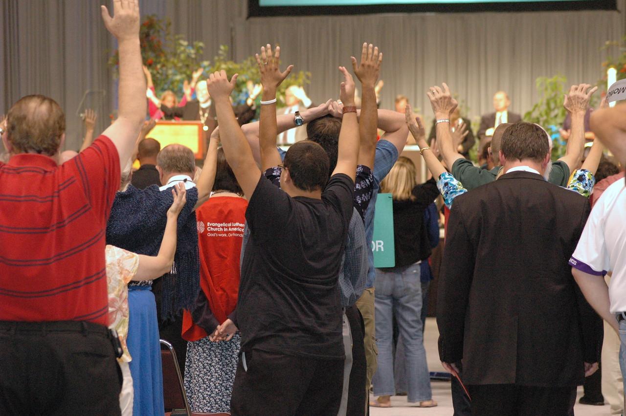 Stretch and pray
