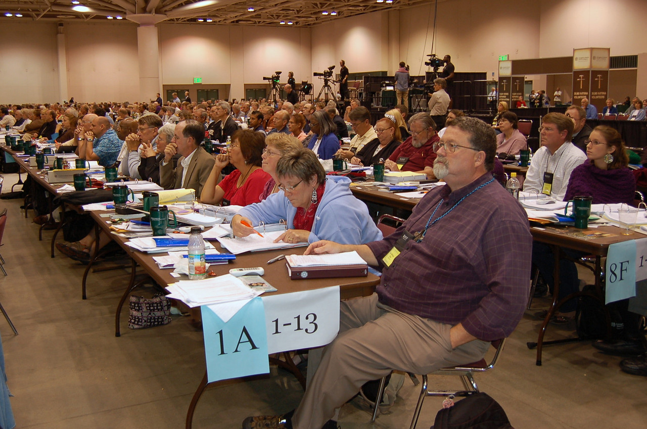 The Alaska Synod during plenary session nine.