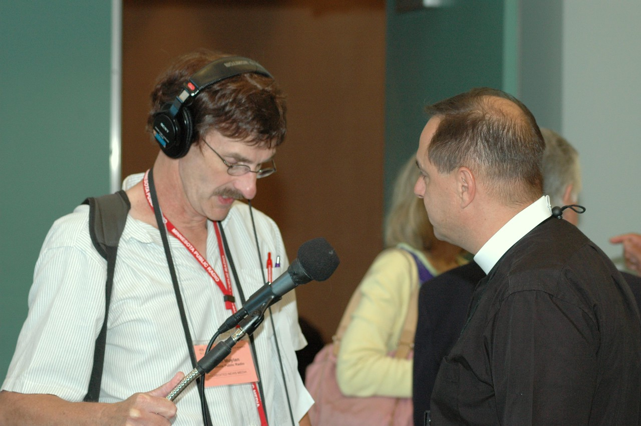 Interviews with television stations after the Ministry Policy Recommendation.