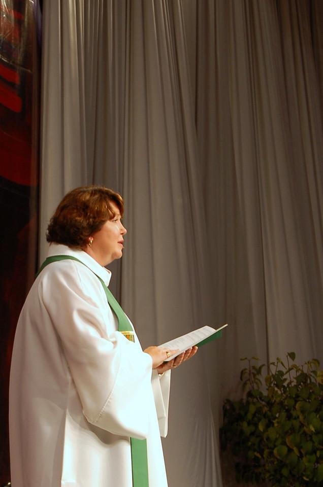 Preacher Pr. Chrysanne Timm, Sylvania, Ohio